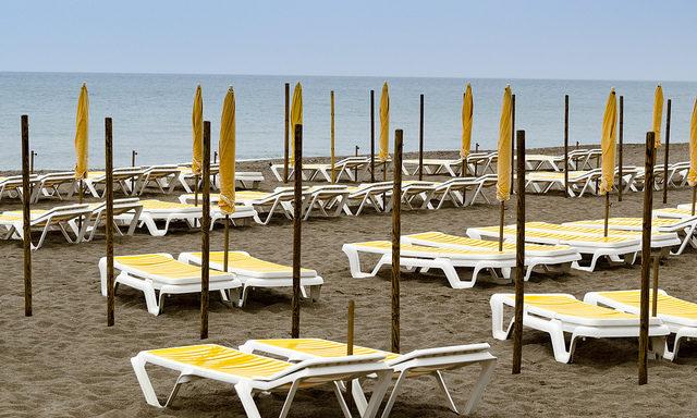 Пляжи Торремолиноса