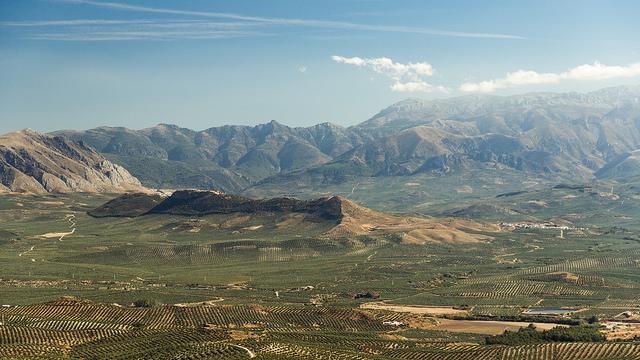 горная местность в окрестностях Баэсы