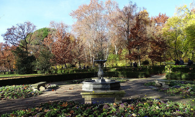 Парк Капричо в Мадриде