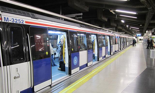 метро в Мадриде