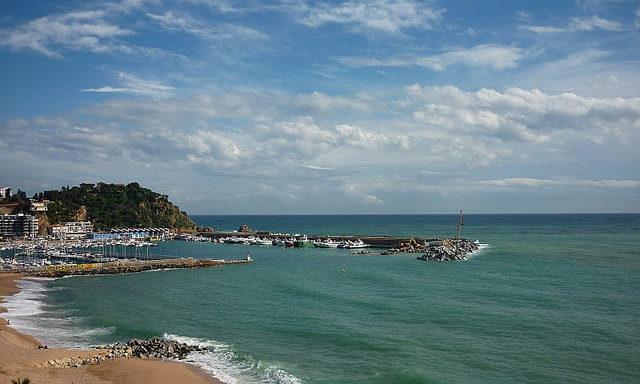 Море в Бланесе