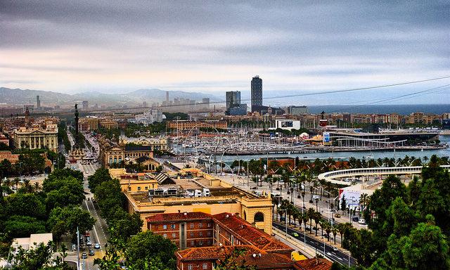 Залив Барселоны
