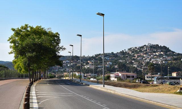 Дорога к курортам Каталонии