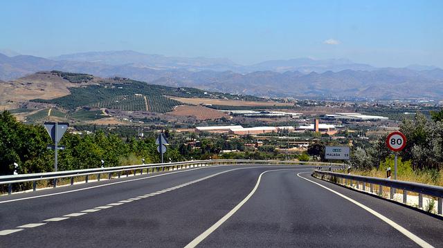 Автострада из Малаги