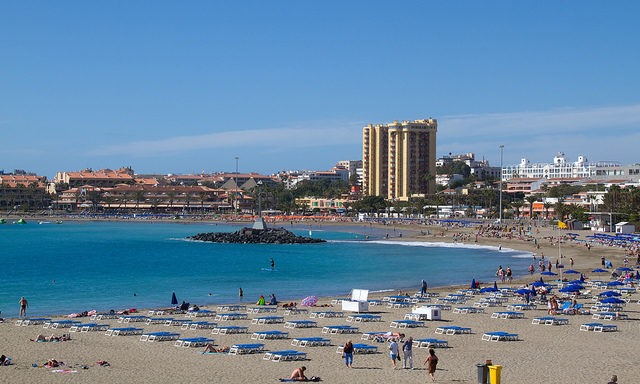 Пляжи Лос-Кристианоса