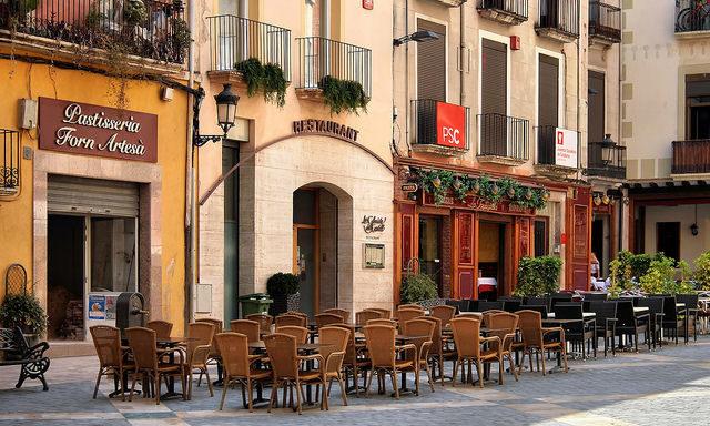 Уличные кафе в Реусе