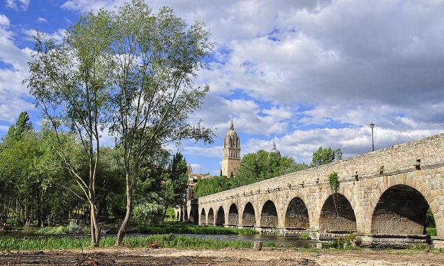 Римский мост в Саламанке
