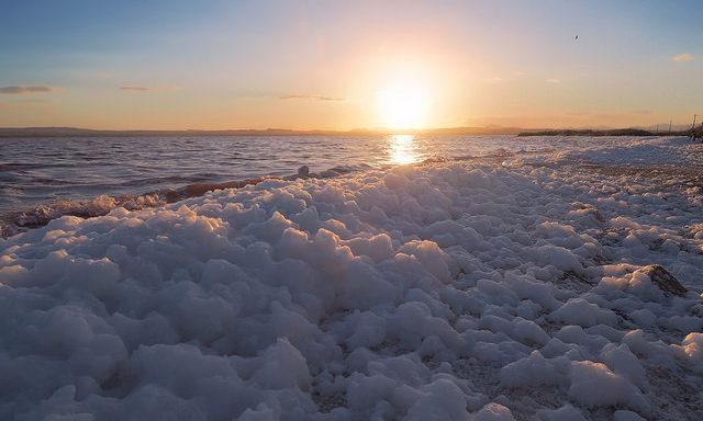 Соленое озеро в Торревьехе