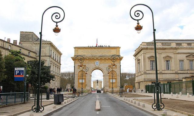 Триумфальная арка Монпелье