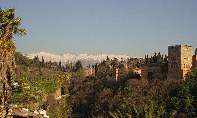Пейзажи Гранады