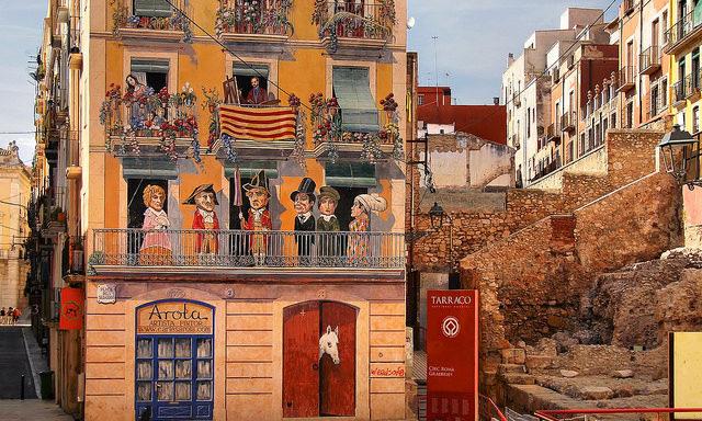 /Дом с фальшивыми фасадами, Таррагона