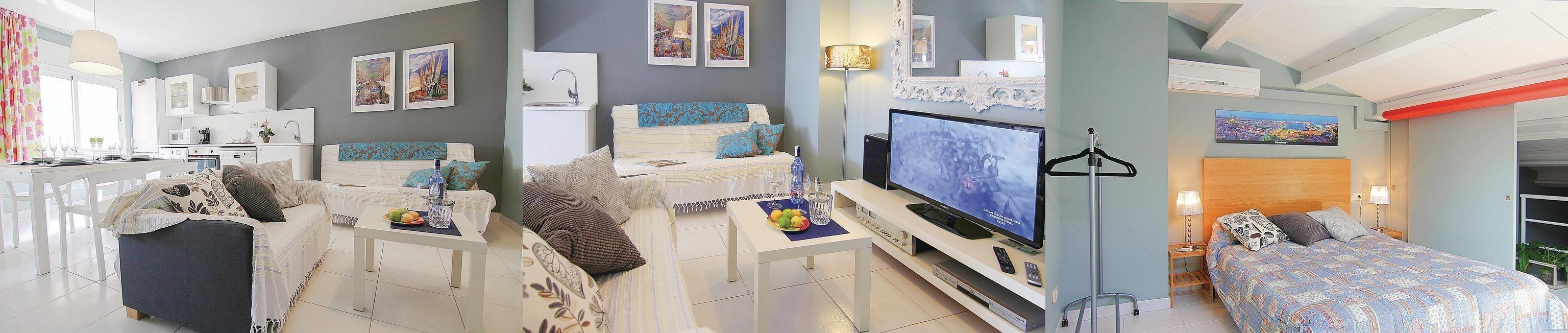 Two-Bedroom Apartment Calella