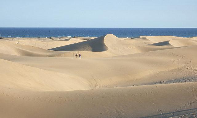 Песчаные барханы Маспаломас
