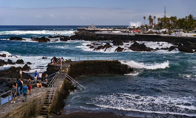 Пляж Сан-Тельмо в Пуэрто де ла Крус
