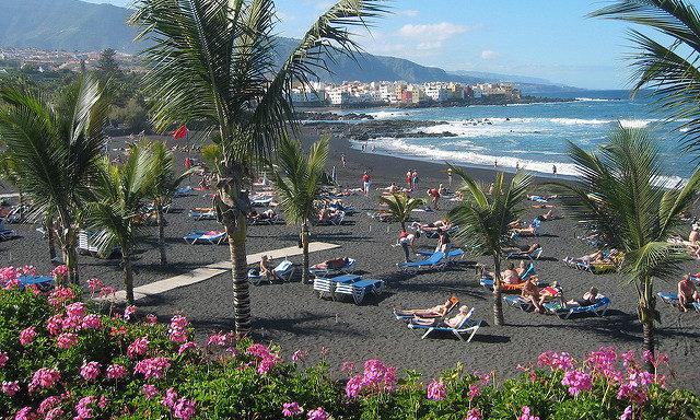 Пляжи в Пуэрто-де-ла-Крус
