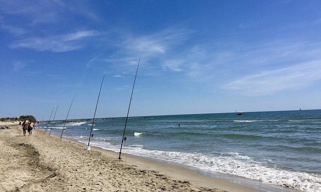 Пляж Espiguette
