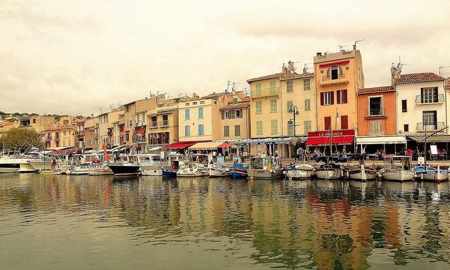 Порт Кассиса, Франция