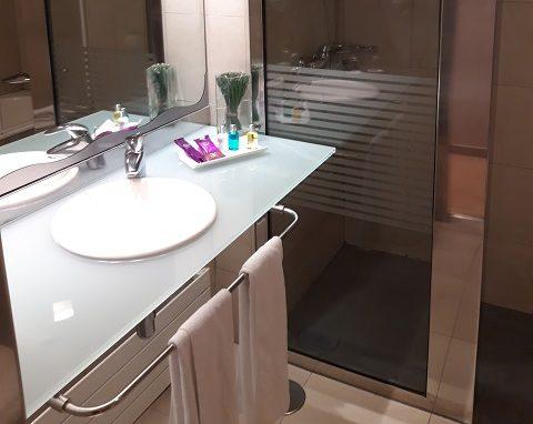 Ванная комната в номере отеля