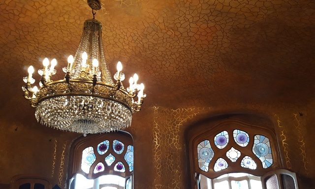 Потолочный декор в доме Бальо