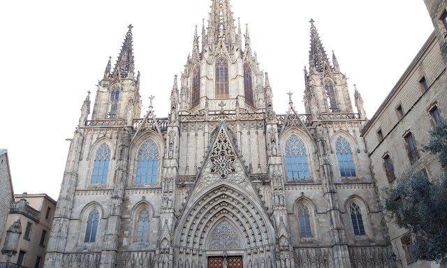 Главный собор в Готическом квартале Барселоны