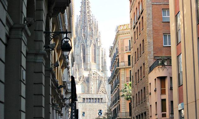 На улочках Барселоны