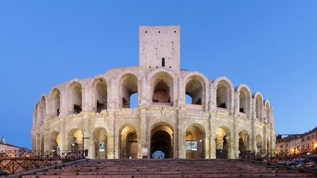 Римский амфитеатр, Арль