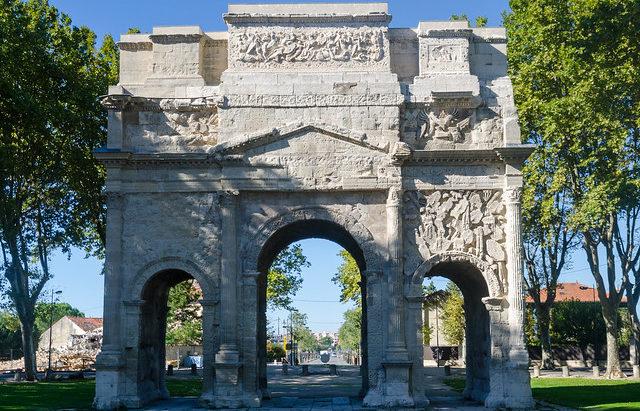 Триумфальная арка, Оранж