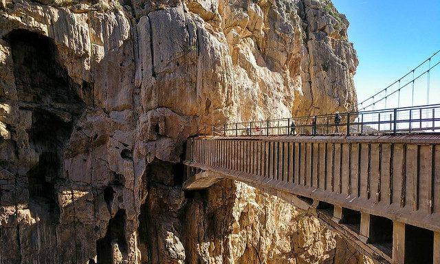 Панорама ущелья Эль-Чорро