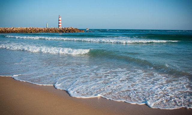 Атлантическое побережье в Фару