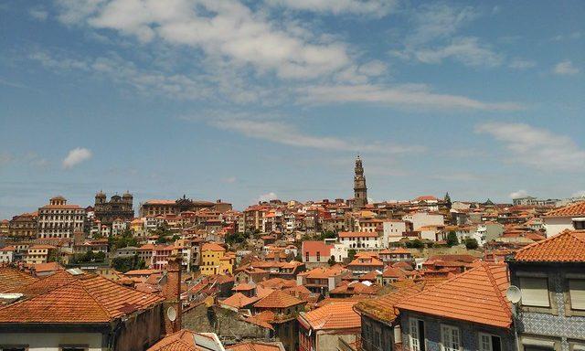 Крыши старого Порту
