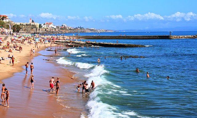 Городской пляж Эшторила