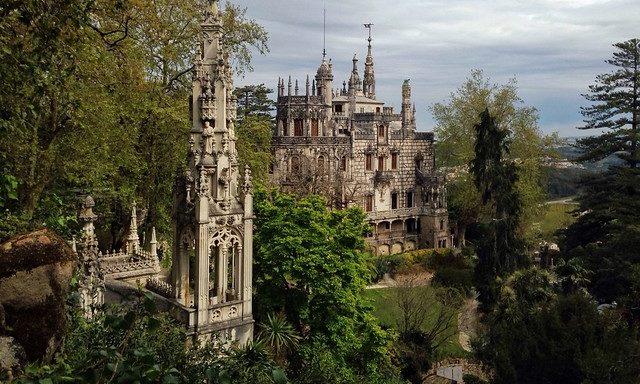 Дворец Кинта-ди-Ригалейра, боковой вид
