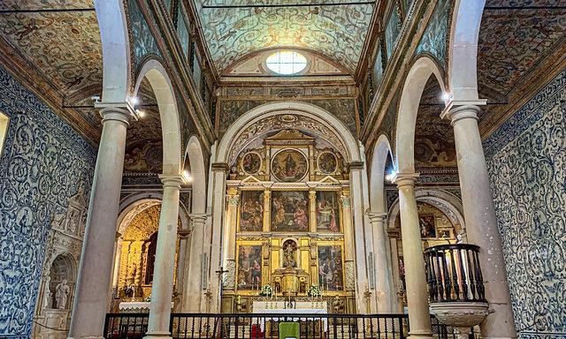 Церковь Санта-Мария в Обидуше